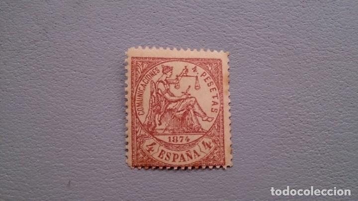 ESPAÑA - 1874 - I REPUBLICA - EDIFIL 151 - F - MNH** - NUEVO - ALEGORIA DE LA JUSTICIA. (Sellos - España - Amadeo I y Primera República (1.870 a 1.874) - Nuevos)