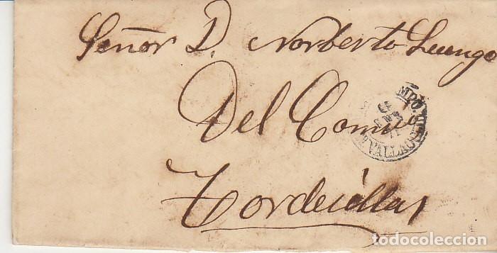 Sellos: Sello. 107. MADRID a TORDESILLAS. 1871. - Foto 2 - 175325584