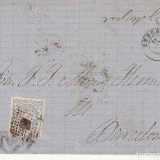 Sellos: SELLO 107. BURGOS A BARCELONA.1871.. Lote 175326263