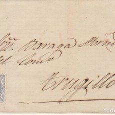 Sellos: SELLO 107. MADRID A TRUJILLO. 1870.. Lote 175326595