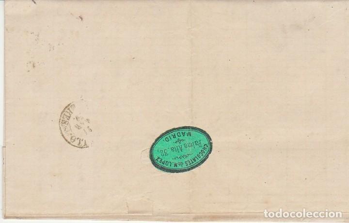 Sellos: Sello 107. MADRID a TRUJILLO. 1870. - Foto 2 - 175326595