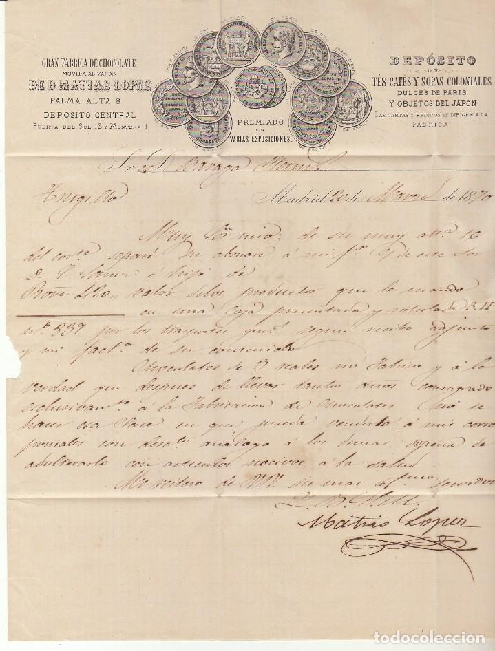 Sellos: Sello 107. MADRID a TRUJILLO. 1870. - Foto 3 - 175326595