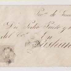 Sellos: SOBRE A PASTRANA, GUADALAJARA. CON SELLO 12 CTS. DE AMADEO I. Lote 176136979