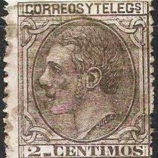 Sellos: EDIFIL 200 USADO 2C. NEGRO GRISACEO ( 5,75 € ). Lote 176258882