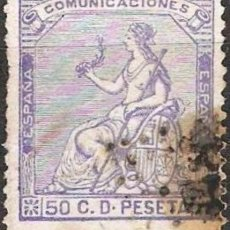 Sellos: EDIFIL Nº 137 USADO 50C. ULTRAMAR ( 11,25 € ). Lote 176847853