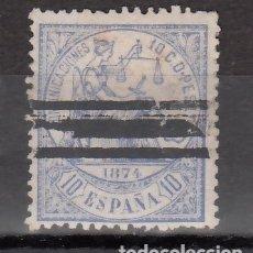 Francobolli: ESPAÑA, 1874 EDIFIL Nº 145S. Lote 177521699