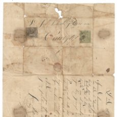 Sellos: CARTA ENVIADA DE LLEIDA / LÉRIDA A TÀRREGA - 1874. Lote 178785626