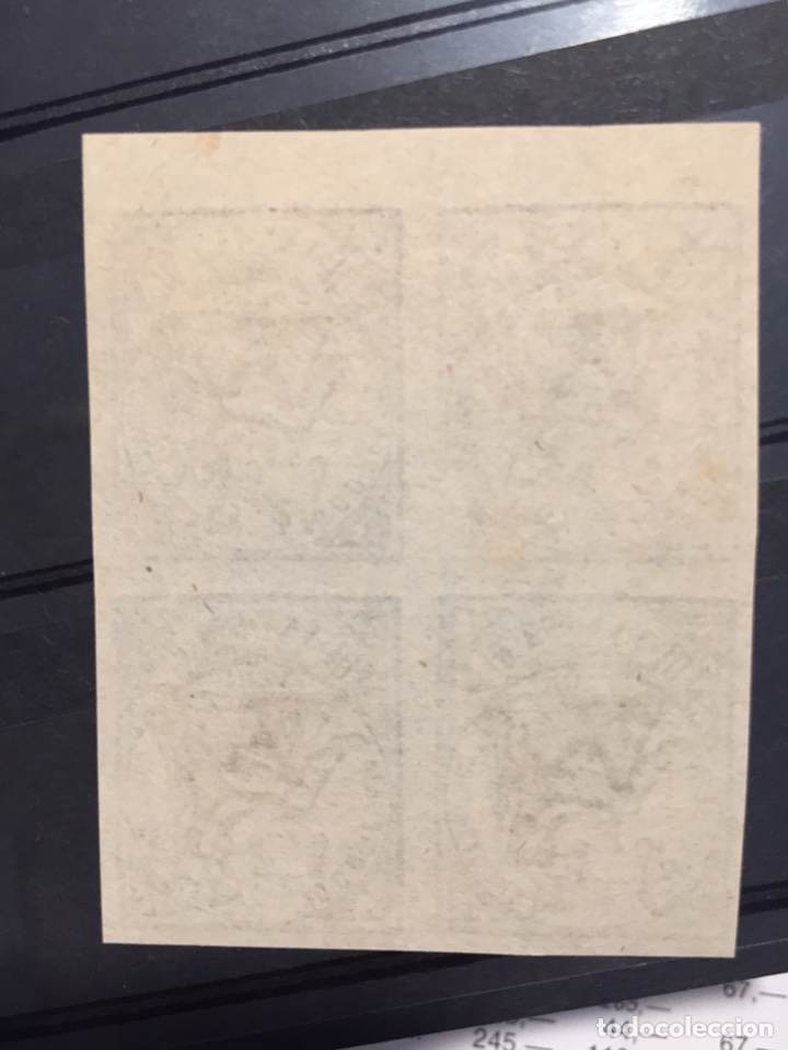 Sellos: Sellos República Edifil 145 sin dentar bloque de 4 muy raro catalogo 80€ - Foto 3 - 180239441
