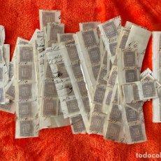 Sellos: FISCAL DE RECIBOS 50 CENTIMOS DE 1870 , LOTE DE 249 SELLOS IGUALES , USADOS . Lote 183837271
