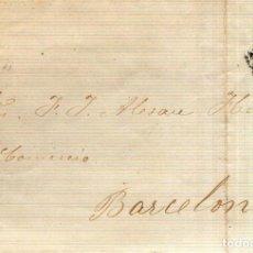 Selos: AÑO1870 EDIFIL 107 CARTA MATASELLOS ROMBO MURCIA. Lote 189362145