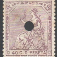 Timbres: ESPAÑA, 1873 EDIFIL Nº 136 T. Lote 190739597