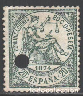 ESPAÑA, 1874 EDIFIL Nº 146 T (Sellos - España - Amadeo I y Primera República (1.870 a 1.874) - Nuevos)