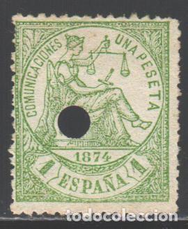 ESPAÑA, 1874 EDIFIL Nº 150 T (Sellos - España - Amadeo I y Primera República (1.870 a 1.874) - Nuevos)