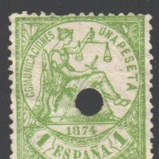 Francobolli: ESPAÑA, 1874 EDIFIL Nº 150 T . Lote 190760900