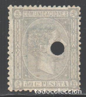 ESPAÑA, 1875 EDIFIL Nº 168 T (Sellos - España - Amadeo I y Primera República (1.870 a 1.874) - Nuevos)