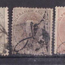 Sellos: TT1- COLONIAS PUERTO RICO EDIFIL 1-3. Lote 190780341