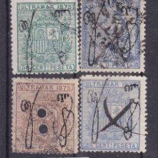 Sellos: TT1- COLONIAS PUERTO RICO EDIFIL 4 / 7. BUENA CONSERVACIÓN. Lote 190780452