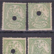 Timbres: AA14- CLÁSICOS EDIFIL 150 . TALADRO TELÉGRAFOS X 4 SELLOS . Lote 191138460