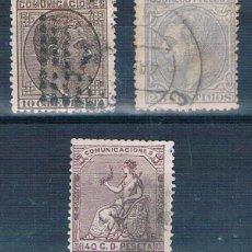 Sellos: ESPAÑA LOTE DE 3 SELLOS USADOS 192/204/136 USADOS FOTOS. Lote 192015527