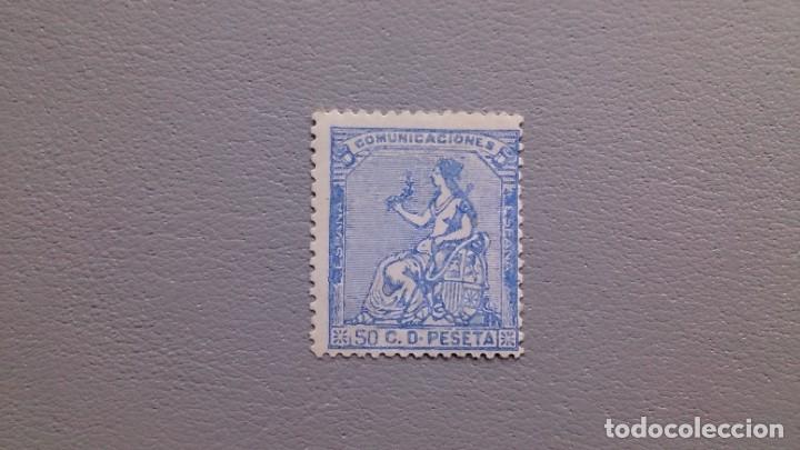 ESPAÑA - 1873 - I REPUBLICA - EDIFIL 137 - MH* - NUEVO - COLOR FRESCO. (Sellos - España - Amadeo I y Primera República (1.870 a 1.874) - Nuevos)