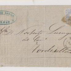 Selos: CARTA BILBAO. MATRONA. 1871. MARCA COMERCIAL. Lote 192661135