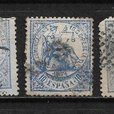 Sellos: ESPAÑA 1874 EDIFIL 145 USADO - 2/11. Lote 194637858