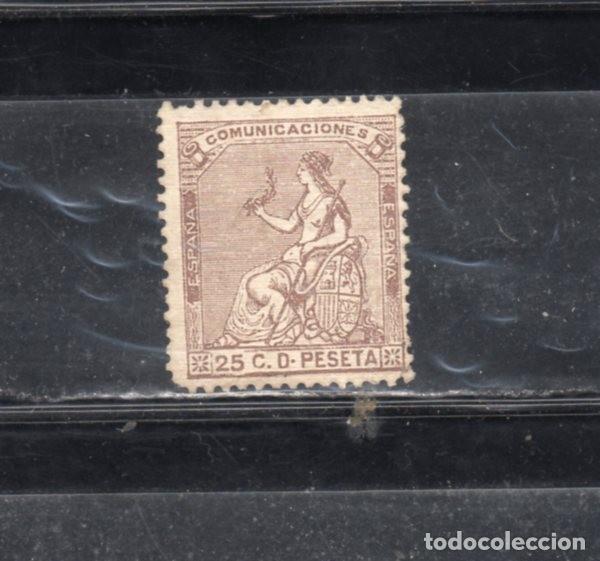 ED Nº135 ALEGORIA A LA JUSTICIA USADO (Sellos - España - Amadeo I y Primera República (1.870 a 1.874) - Usados)