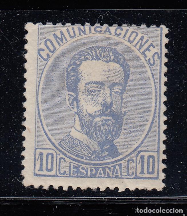 1872 EDIFIL 121* NUEVO CON CHARNELA. AMADEO I (220) (Sellos - España - Amadeo I y Primera República (1.870 a 1.874) - Nuevos)