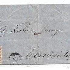 Sellos: CARTA DE SANTANDER A TORDESILLAS CON EDIFIL 96. Lote 195191735