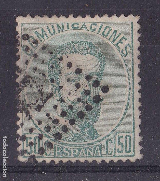 LL5- CLÁSICOS EDIFIL 126. USADO . CENTRADO. PERFECTO (Sellos - España - Amadeo I y Primera República (1.870 a 1.874) - Usados)
