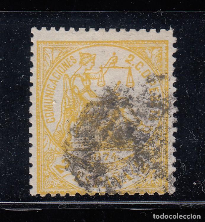 1874 EDIFIL 143 USADO. ALEGORIA DE LA JUSTICIA. (220) (Sellos - España - Amadeo I y Primera República (1.870 a 1.874) - Usados)