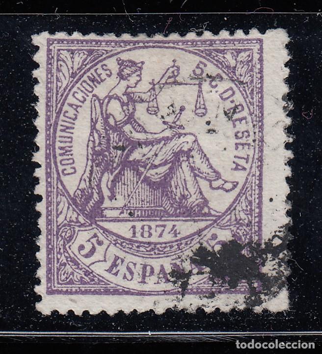 1874 EDIFIL 144 USADO. ALEGORIA DE LA JUSTICIA. (220) (Sellos - España - Amadeo I y Primera República (1.870 a 1.874) - Usados)