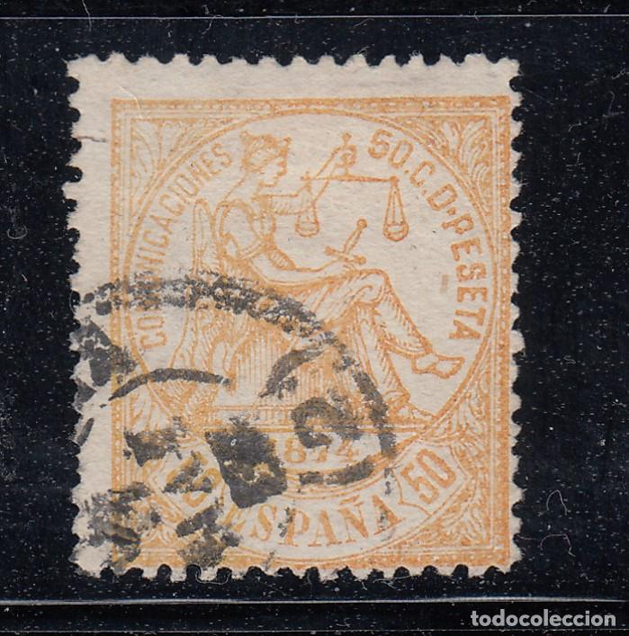 1874 EDIFIL 149 USADO. ALEGORIA DE LA JUSTICIA. (220) (Sellos - España - Amadeo I y Primera República (1.870 a 1.874) - Usados)