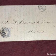 Sellos: CARTA CLÁSICA. BARCELONA A MOTRIL. Lote 195481911