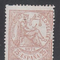 Francobolli: ESPAÑA, 1874 EDIFIL Nº 147 (*). Lote 195741906