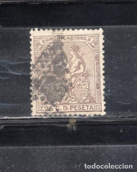 ED Nº 135 ALEGORIA DE ESPAÑA USADO (Sellos - España - Amadeo I y Primera República (1.870 a 1.874) - Usados)