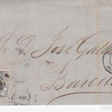 Sellos: CARTA COMPLETA DE PASCUAL ABELLAN EN MURCIA -1872 - CON SELLO NUM.107. Lote 199425851