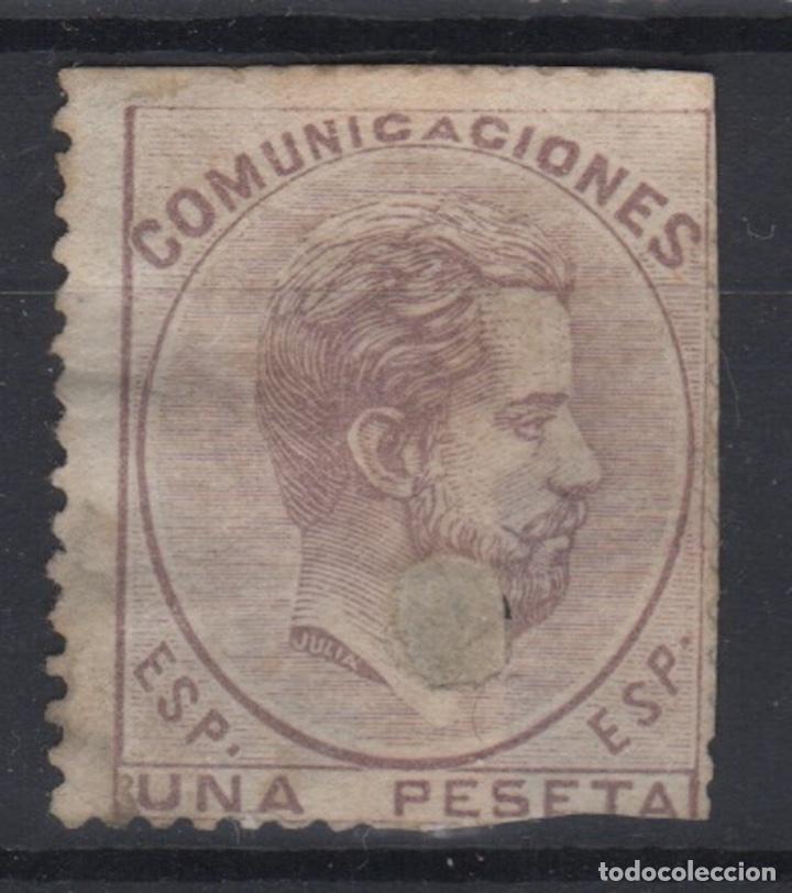 1872 REINADO AMADEO I EDIFIL 127T(º) V.CATALOGO 70€ (Sellos - España - Amadeo I y Primera República (1.870 a 1.874) - Usados)