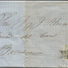 Sellos: 1873-PALMA DE MALLORCA-BARCELONA. Lote 201353961