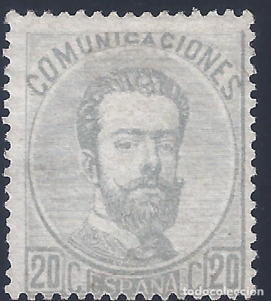 EDIFIL 123 AMADEO I. 1872. CENTRADO DE LUJO. VALOR CATÁLOGO: 198 €. PERFECTO. LUJO. MNG. (Sellos - España - Amadeo I y Primera República (1.870 a 1.874) - Nuevos)