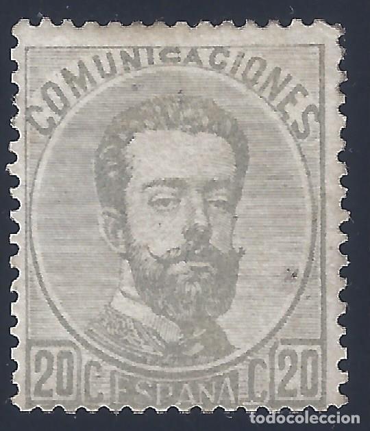 EDIFIL 123 AMADEO I. 1872. CENTRADO DE LUJO. VALOR CATÁLOGO: 198 €. LUJO. MLH. (Sellos - España - Amadeo I y Primera República (1.870 a 1.874) - Nuevos)
