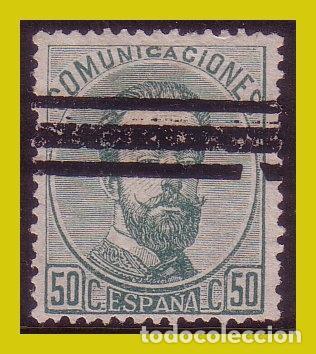 BARRADOS 1872 AMADEO I, EDIFIL Nº 126S (*) (Sellos - España - Amadeo I y Primera República (1.870 a 1.874) - Usados)