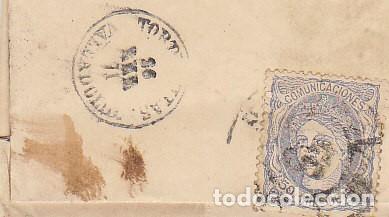 Sellos: Sello. 107. MADRID a TORDESILLAS. 1871. - Foto 4 - 175325584
