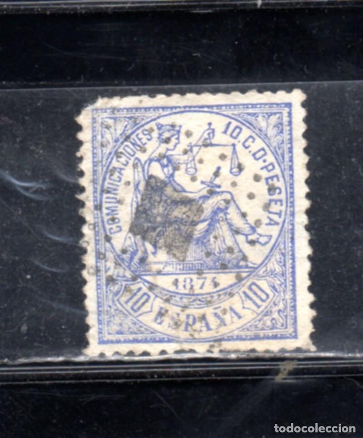 ED Nº 145 ALEGORIA A LA JUSTICIA USADO (Sellos - España - Amadeo I y Primera República (1.870 a 1.874) - Usados)