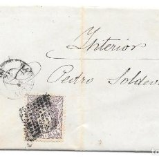 Sellos: CATALUÑA. EDIFIL 106. CORREO INTERIOR DE BARCELONA. 1872. Lote 204504616