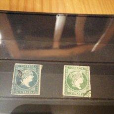 Sellos: 2 SELLOS DE ANTILLAS 1955. Lote 204550188