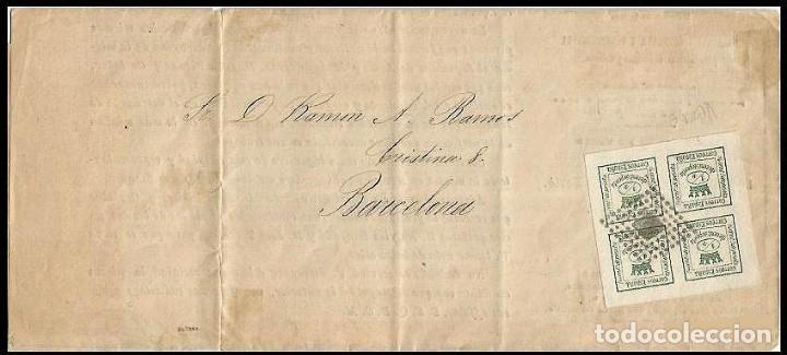 CARTA EDIFIL 130 IMPRESION FINA (Sellos - España - Amadeo I y Primera República (1.870 a 1.874) - Cartas)