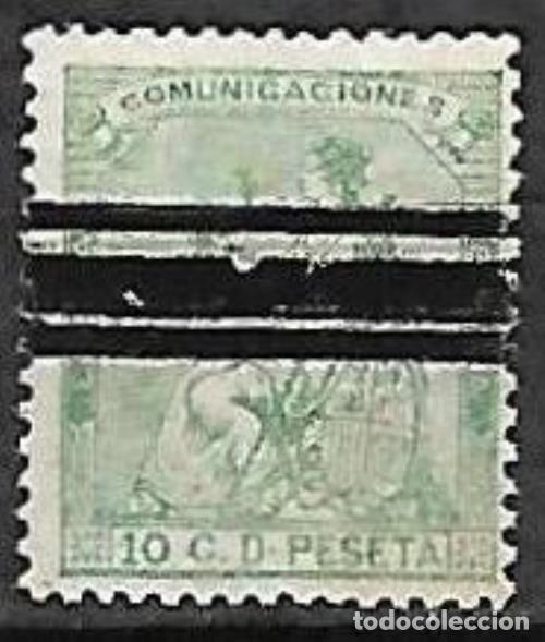 EDIFIL 133S BARRADO USADO (Sellos - España - Amadeo I y Primera República (1.870 a 1.874) - Usados)