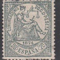 Sellos: ESPAÑA, 1873 EDIFIL Nº 146 /*/ ALEGORÍA A LA JUSTICIA. Lote 209796922