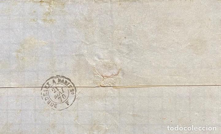 Sellos: ESPAÑA, CARTA CIRCULADA EN EL AÑO 1870 - Foto 2 - 210176123
